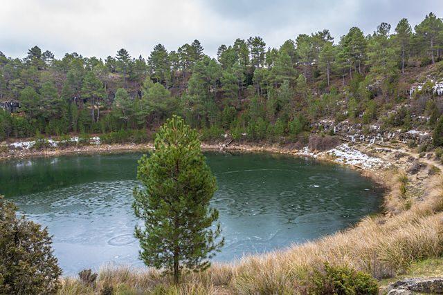 Cuenca Lagunas Cañada del Hoyo Laguna Gitana Cruz