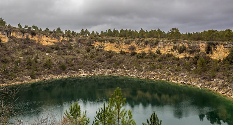 Cuenca Lagunas Cañada del Hoyo Laguna Tejo Panorama