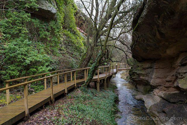 Cuenca Villar del Humo Paseo Fluvial Pasarela