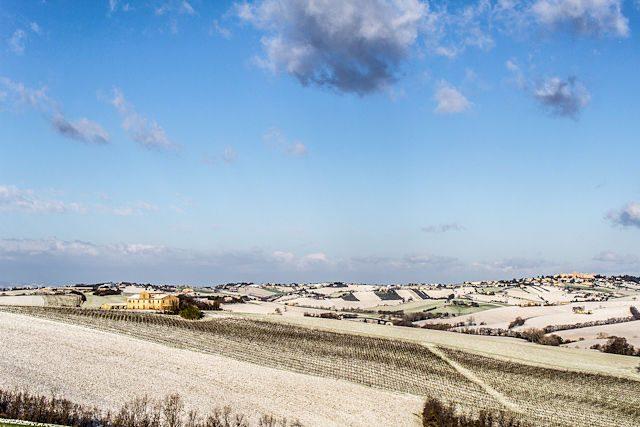 Italia Marche Jesi Nieve
