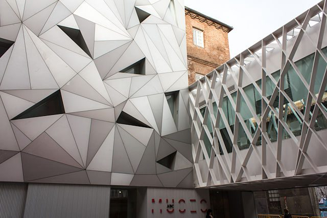 Museo ABC Cerveza Mahou Fachada Exterior