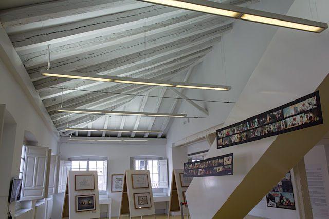 Museo ABC Cerveza Mahou Techo Interior