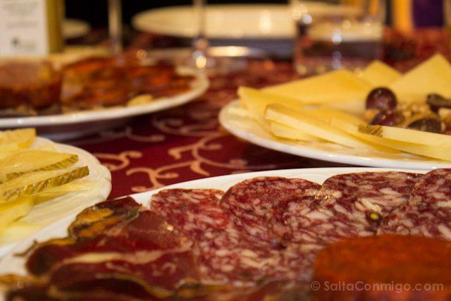 Restaurantes Malaga Los Patios de beatas Surtido Ibericos