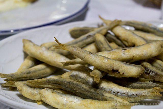 Restaurantes Malaga Pescaito Frito Boquerones