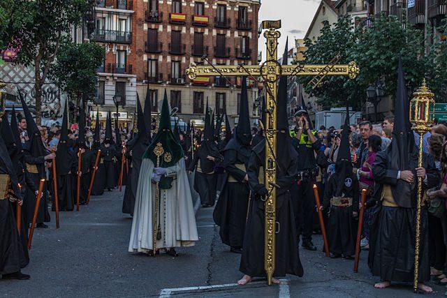 Semana Santa en Madrid Jesus Gran Poder Nazarenos