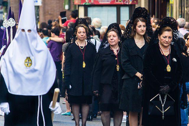 Semana Santa en Madrid Procesion Silencio