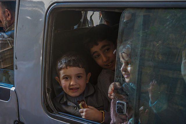 Siria Damasco Niños