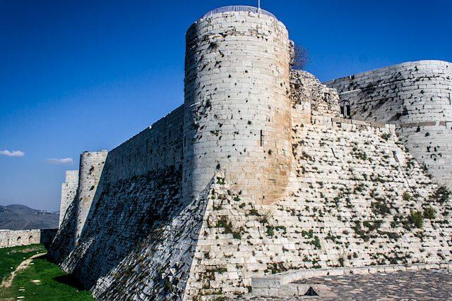 Siria Krak Caballeros Murallas