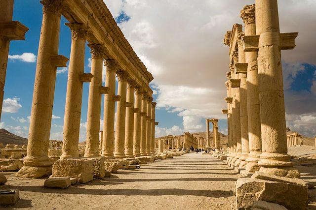 Siria Plamira Columnas
