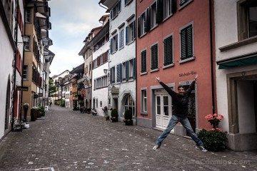 Suiza Zug Calle Salto