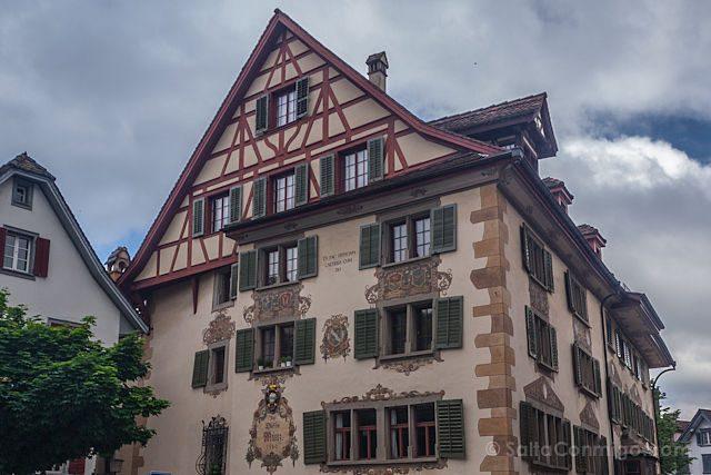 Suiza Zug Fachadas