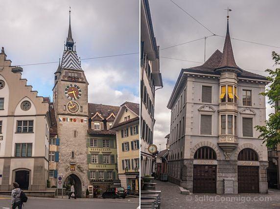 Suiza Zug Zytturm Comisaria