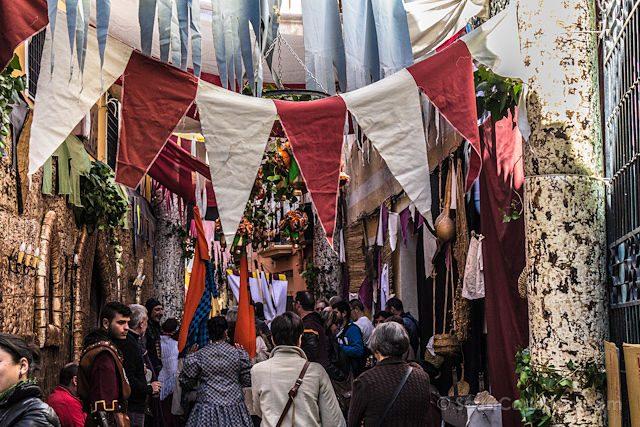 Alicante Villena Fiestas Medievo Calles