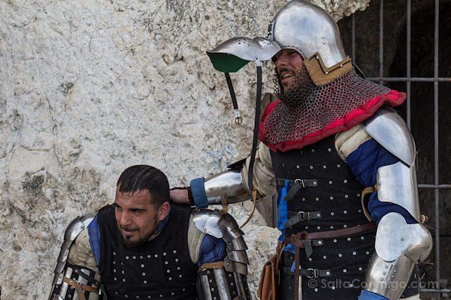 Alicante Villena Fiestas Medievo Lucha Agotamiento