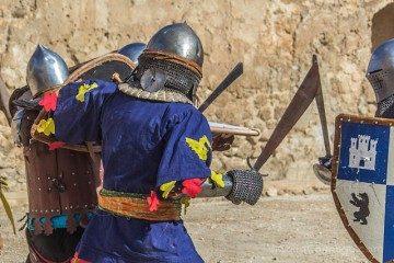 Alicante Villena Fiestas Medievo Lucha Combate