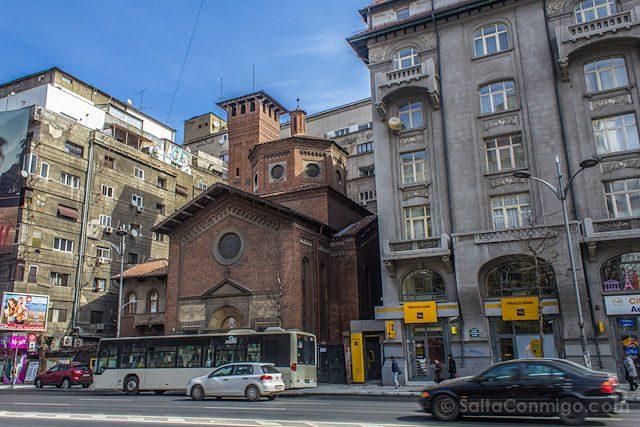 Bucarest Iglesia Edificios