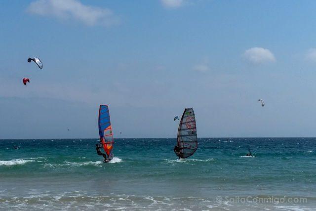Cadiz Tarifa Playa Valdevaqueros Windsurf