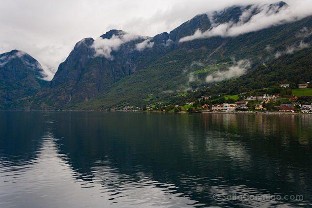 Noruega Aurlandsfjord Aurland