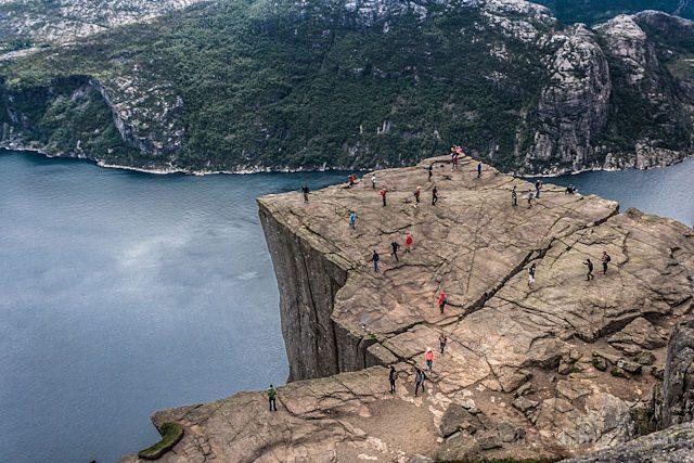 Noruega Preikestolen Pulpito Mirador