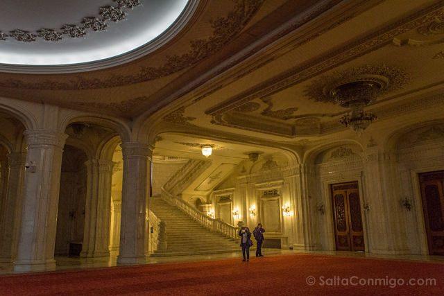 Bucarest Palacio Parlamento Rumano