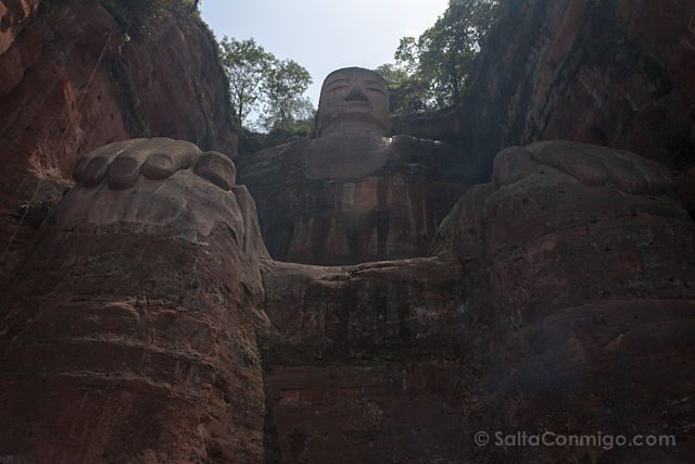 China Leshan Gran Buda Abajo