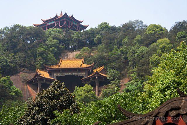 China Leshan Pagodas