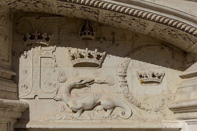 Francia Loira Blois Salamandra Francisco I