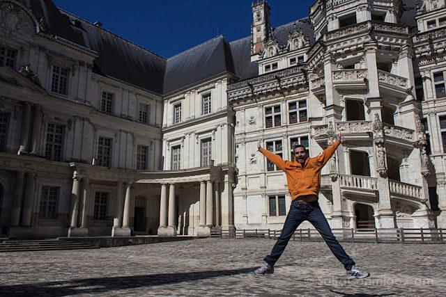 Francia Loira Blois Salto