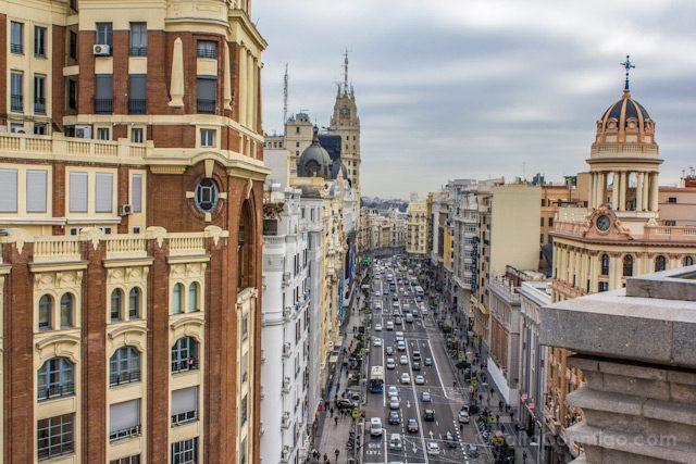 Madrid Hotel Vinci Capitol Terraza