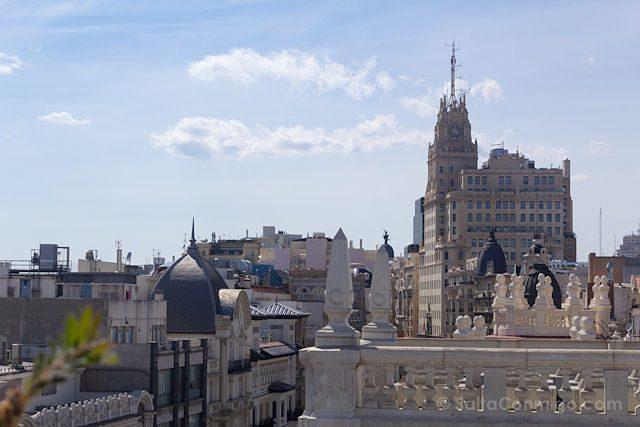 Madrid Terrazas The Principal Gran Via Tejados