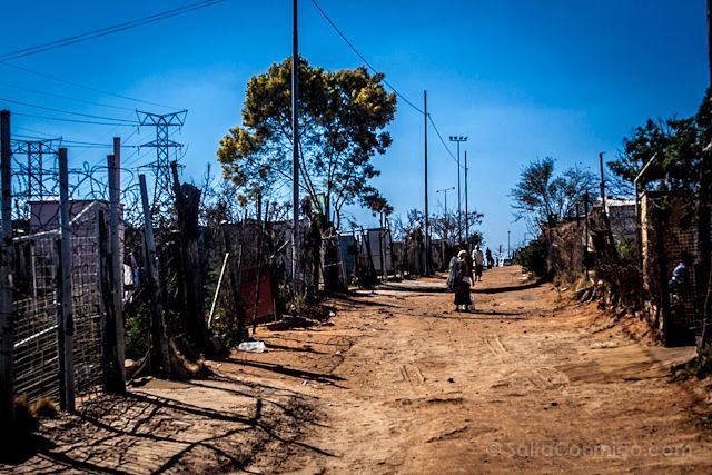 Sudafrica Soweto Calles Tierra
