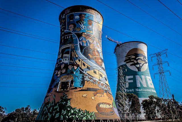 Sudafrica Soweto Torres Ventilacion