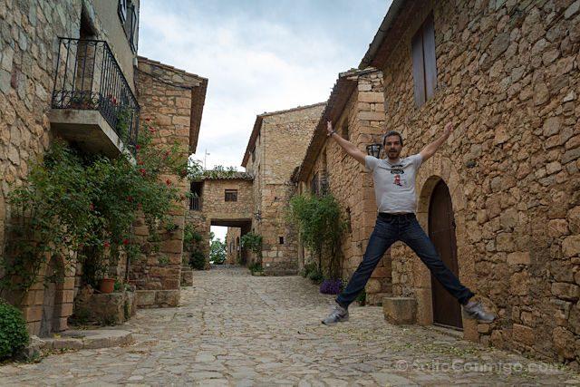 Tarragona Siurana Calles Salto