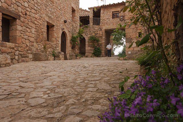 Tarragona Siurana Calles Senor