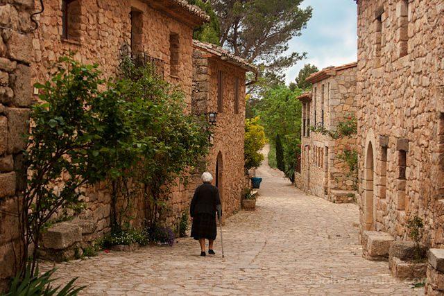 Tarragona Siurana Calles Señora