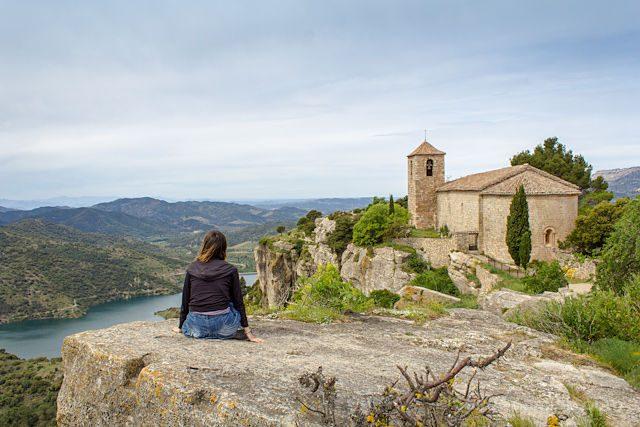 Tarragona Siurana Iglesia Santa Maria