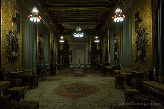 Tour Bucarest Castillo Peles Interior
