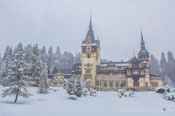 Tour-Bucarest Castillo Peles Nieve
