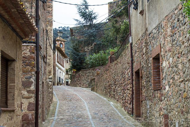Baix Camp L'Argentera Calles