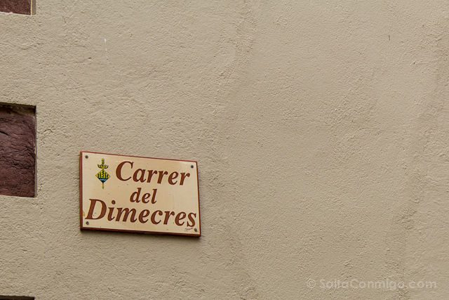 Baix Camp Riudecanyes Nombre Calle
