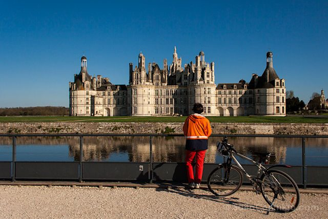 Francia Valle Loira Chambord Bicicleta