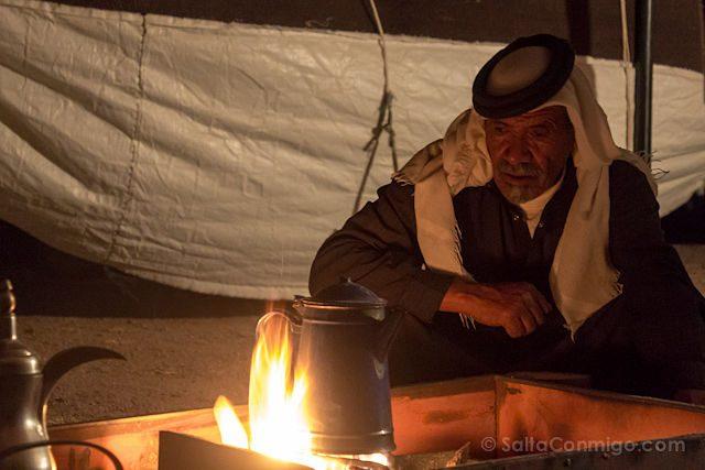 Jordania Cafe Beduino Hervir