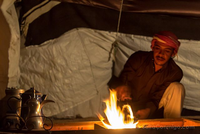Jordania Cafe Beduino Tostar Granos