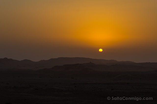 Jordania Puesta de Sol Reserva Dana