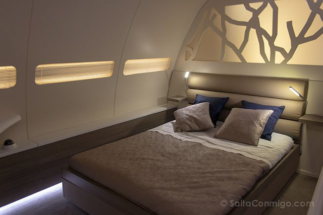 Toulouse Museo Aeroscopia Airbus A300B Cama Interior