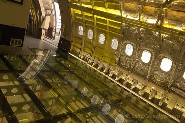 Toulouse Museo Aeroscopia Airbus A330B Interior
