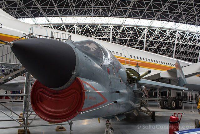 Toulouse Museo Aeroscopia Aviones Crusader