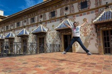 Valencia Gandia Palacio Ducal Familia Borja Borgia Terraza Salto