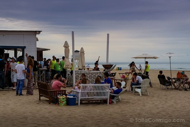 Valencia Gandia Playa Fiesta Chiringuito