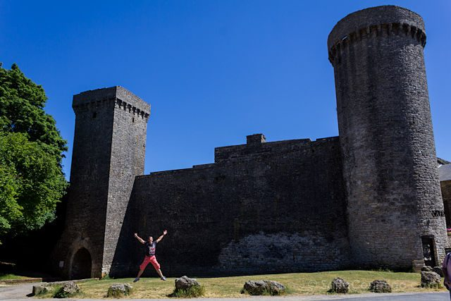 Francia La Couvertoirade Templario Muralla Salto
